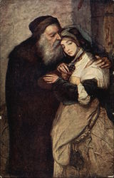 Gottlieb's Painting of Shylock and Jessica