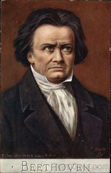Portrait of Ludwig Van Beethoven Composers