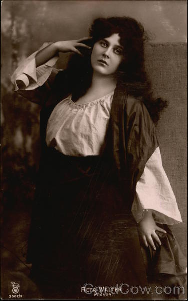 Photograph of Reta Walter Mignon Actresses