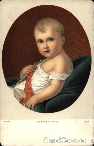 The King of Rome - Baby Portrait Royalty