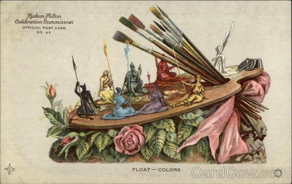 Float - Colors Postcard