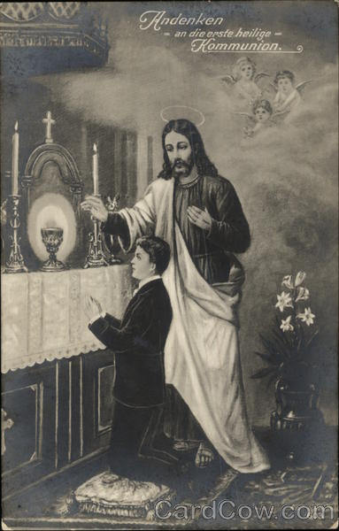 Souvenir of the First Holy Communion Religious