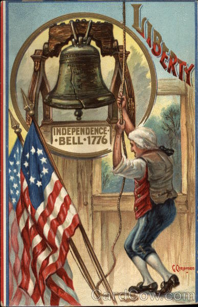 Liberty - Independence Bell 1776 - United States Patriotic
