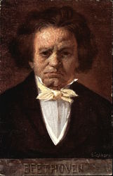 Portrait of Ludwig Van Beethoven (Composer)