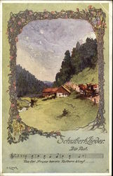 """The Post Office"" by Schubert-Lieder Postcard"