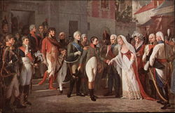 Napoleon and the Queen of Prussia in Tilsitt - July 6, 1807