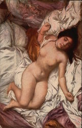 Nude Woman on Bed