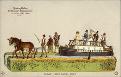 Float - Erie Canal Boat