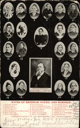 Wives of Brigham Young and Himself