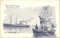 Red Star Line, S.S. Finland, May 17, 1905