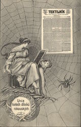 Textile Workers Union - Women in Spider Web