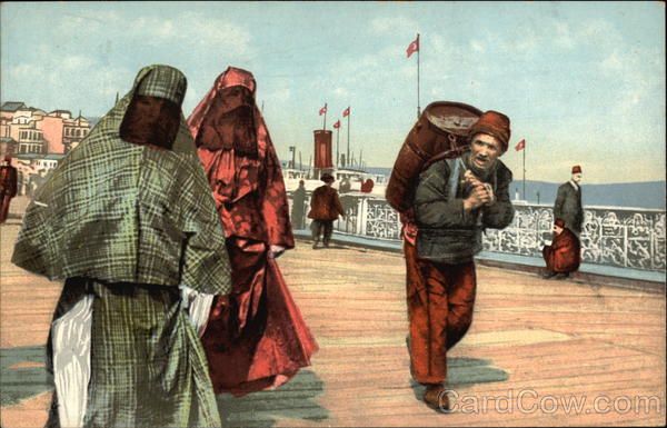 Two Turkish Ladies on the Boardwalk