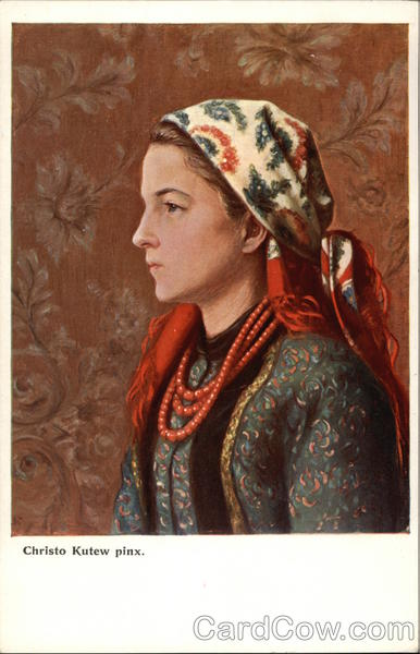 Profile Portrait of Polish Woman