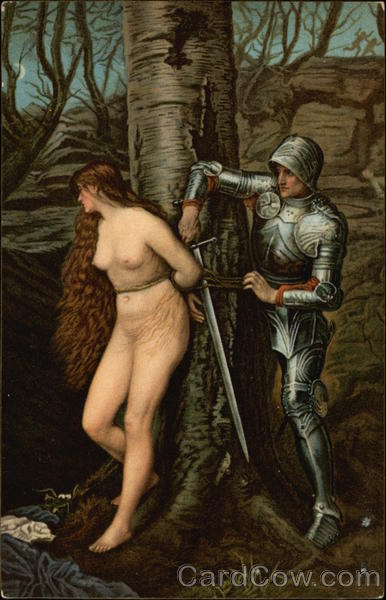 The Knight Errant by Sir John Everett Millais Art