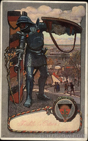 A Knight with Sword and Shield Germany