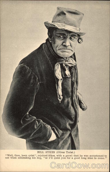 Photograph Of Bill Sykes From  U0026quot Oliver Twist U0026quot  Actors
