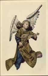 Angel playing a Rebec