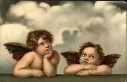 """Angels of the Sistine Madonna"""