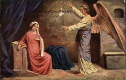 Angel Visits Mary in the Night