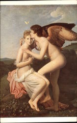 """Love and Psyche"" - Nude Angel Figures"