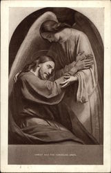 Christ and the Consoling Angel