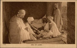 Men in Turbans Play Cards