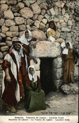 People Outside of the Tomb of Lazarus