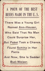 A Poem of the Best Beers Made in the U.S