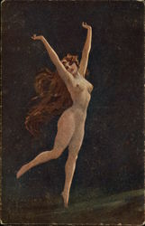 Nude Woman Dancing