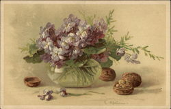 Walnuts and Lavender Violets