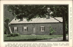 Wing of My Old Kentucky Home (Federal Hill), Built in 1793