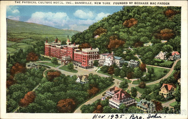 The Physical Culture Hotell, Inc Dansville New York