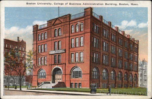 Boston University, College of Business Administration Building Massachusetts