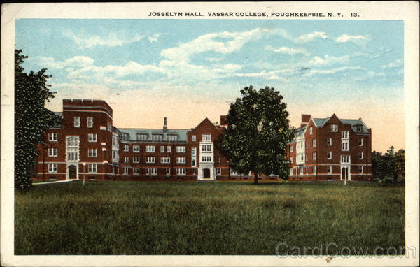 Josselyn Hall at Vassar College Poughkeepsie New York