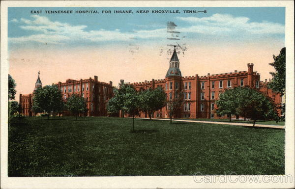 East Tennessee Hospital for Insane Knoxville