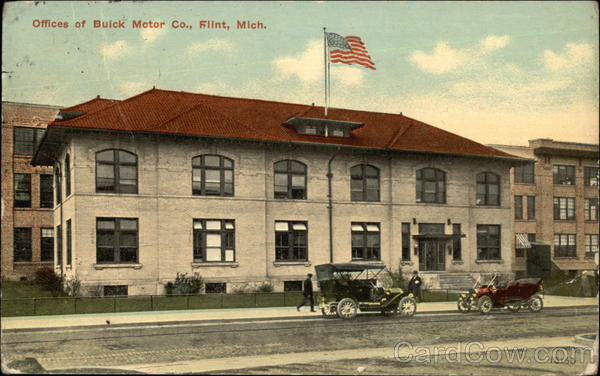 Offices of Buick Motor Co Flint Michigan