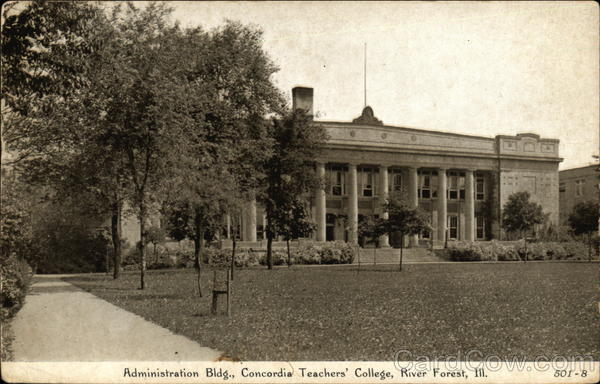 Concordia Teachers College - Administration Building River Forest Illinois