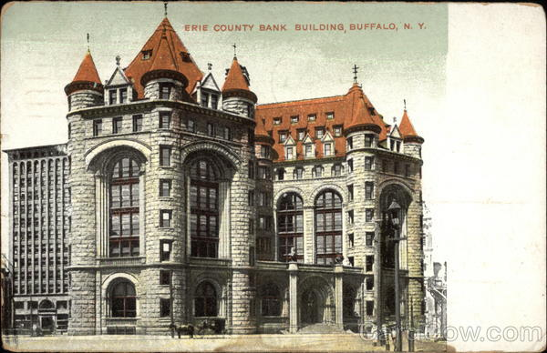 Erie County Bank Building Buffalo New York