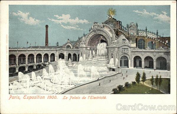 le palais de l 39 electricite 1900 paris exposition. Black Bedroom Furniture Sets. Home Design Ideas