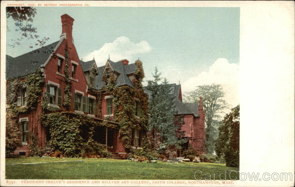 President Seelye's Residence and Hillyer Art Gallery, Smith College Northampton Massachusetts