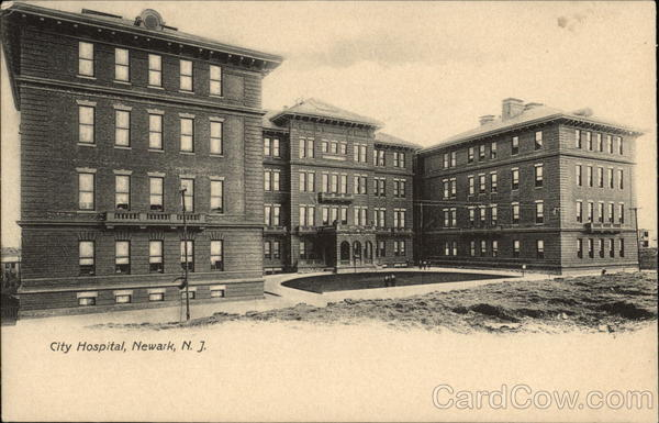 City Hospital Newark New Jersey