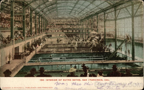 Sutro Baths - Interior San Francisco California