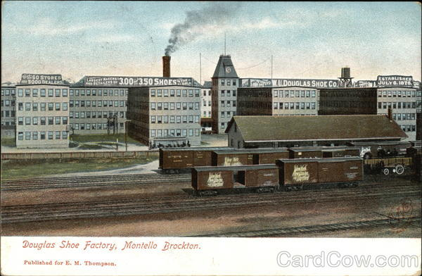 Douglas Shoe Factory, Montello Brockton Massachusetts