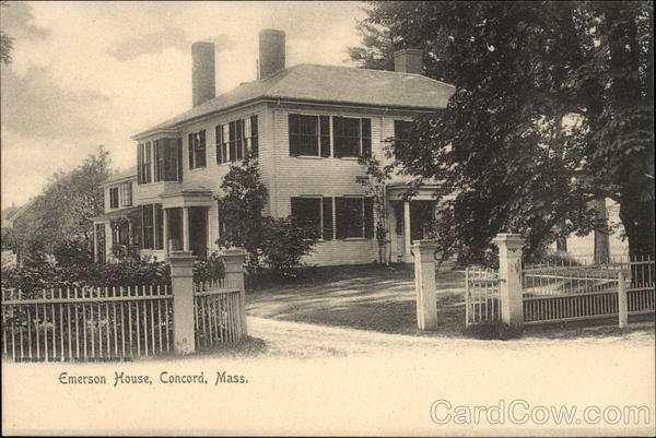 Emerson House Concord Massachusetts