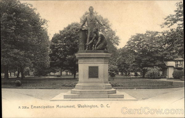 Emancipation Monument Washington District of Columbia