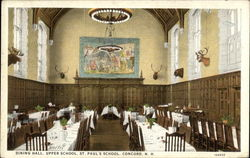 St. Paul's School - Upper School, Dining Hall
