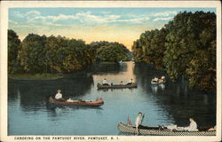 Canoeing on the Pawtuxet River