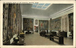 The Tapestry Room at Art Museum