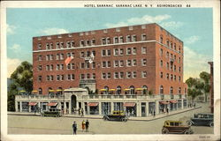 Hotel Saranac in the Adirondacks