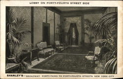 Shanley's - Lobby on 44th Street Side